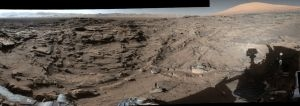 Curiosity rover films 360° view of Mars