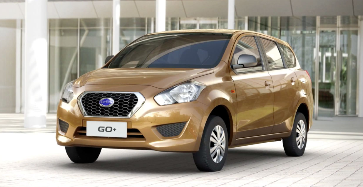 Nissan To Launch Datsun GO And GO+ In Pakistan
