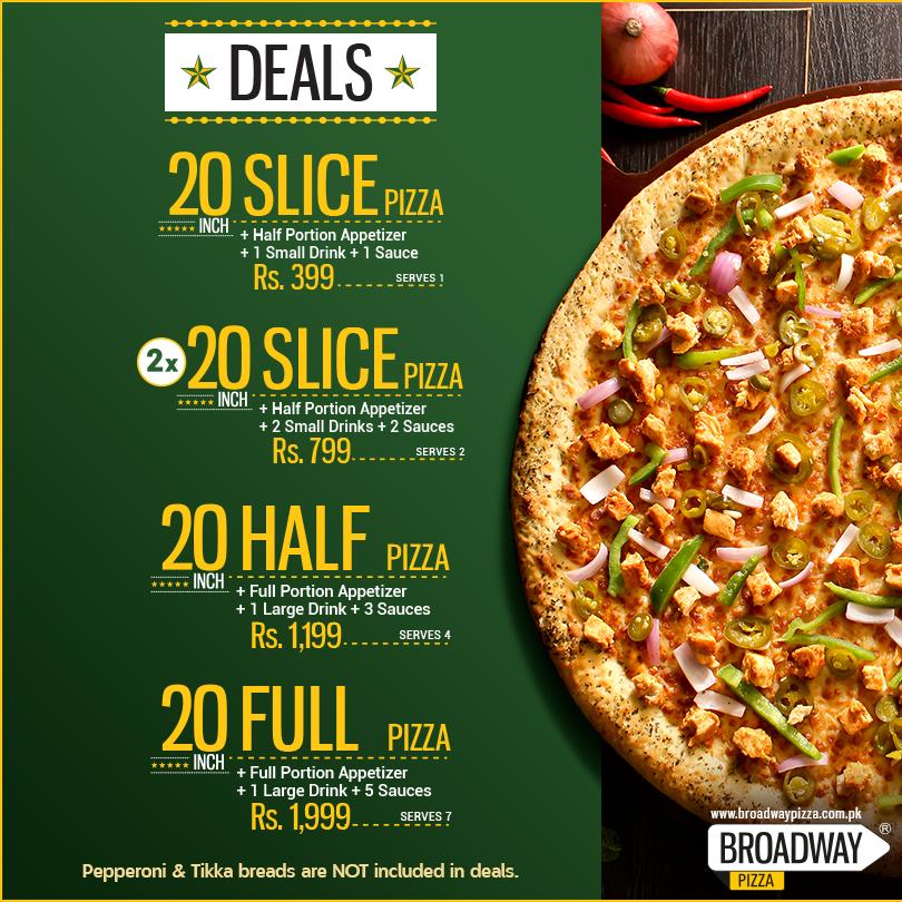 Pizza Places in Karachi