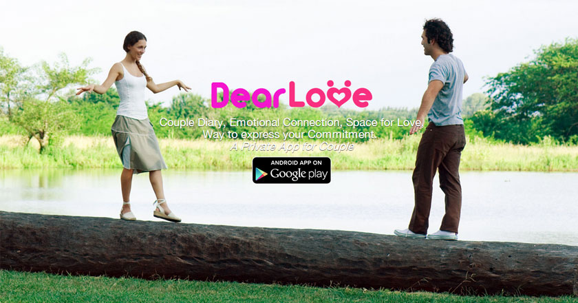 DearLove Valentines Day app for Tech Savvy Lovers