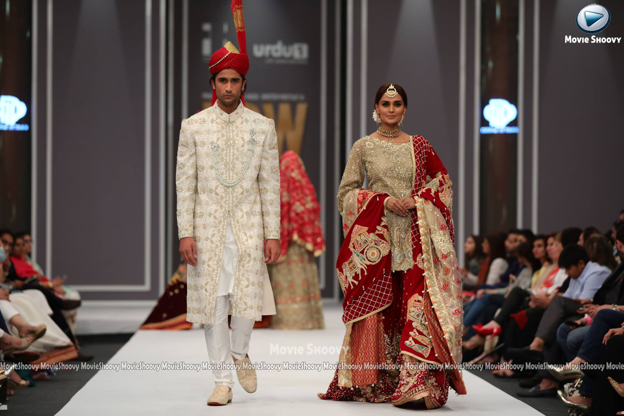db4886a66c His latest bridal wear showcased during fpw2016 winter festive was all  about the celebration of love. The collection featured some very brightly  colored ...