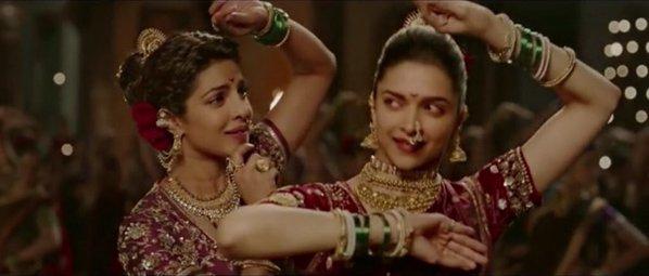 Deepika and Priyanka in song Pinga