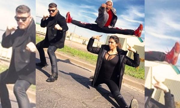 Deepika's shot from XXX movie feat. Vin Diesel