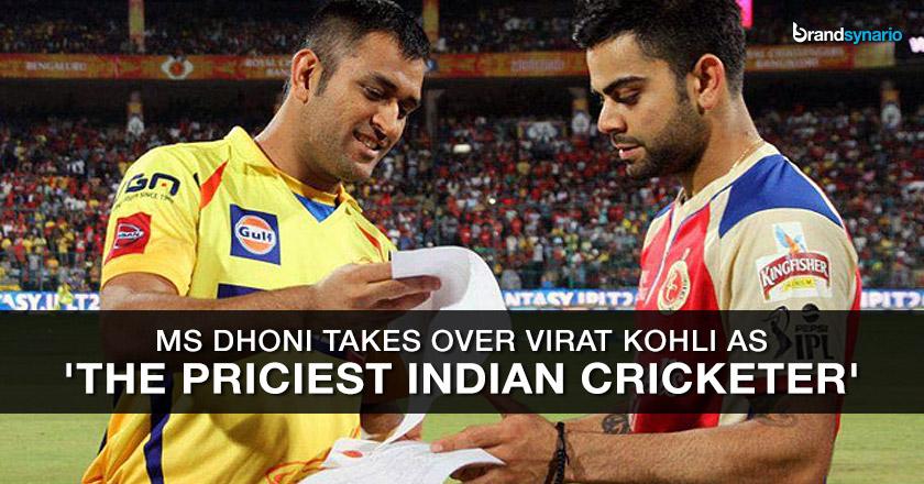 Dhoni Beats Virat Kohli