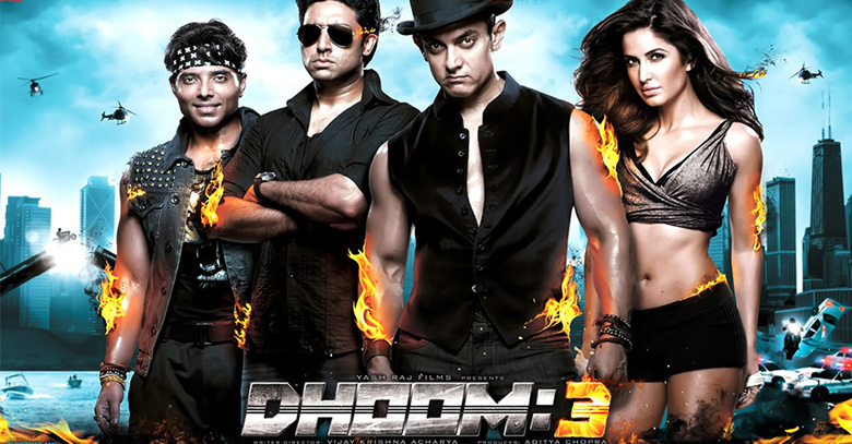 Dhoom 3, First Indian Movie to Gross 500 Crore Worldwide