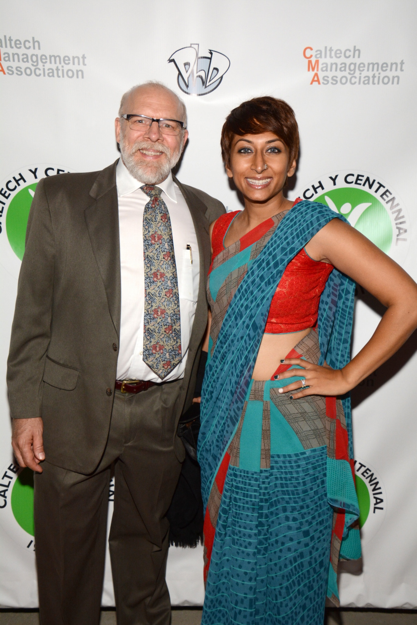 Director Iram Parveen Bilal with Actor K. Zachary Abbott