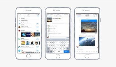 Dropbox users can now share files directly from Facebook Messenger.