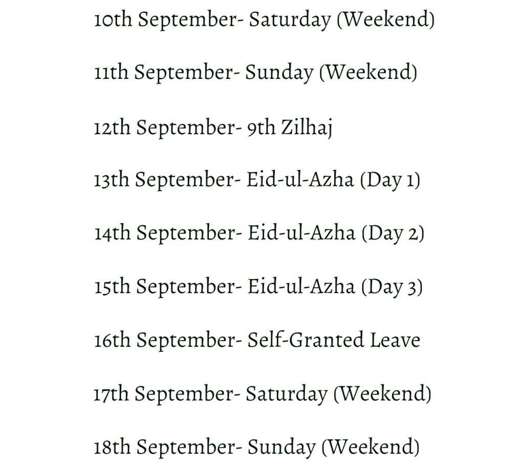 EidUlAzhaHolidays2016