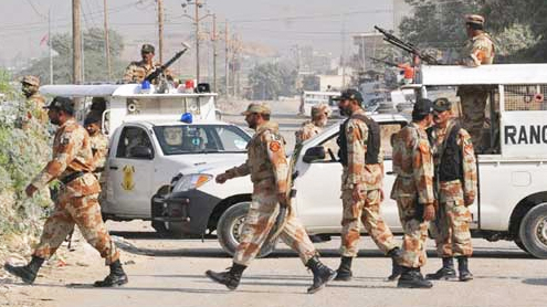 Rangers Helpline Karachi