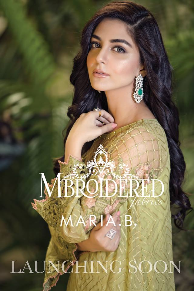 Embroidered Luxury Pret Collection MariaB Mayal Ali