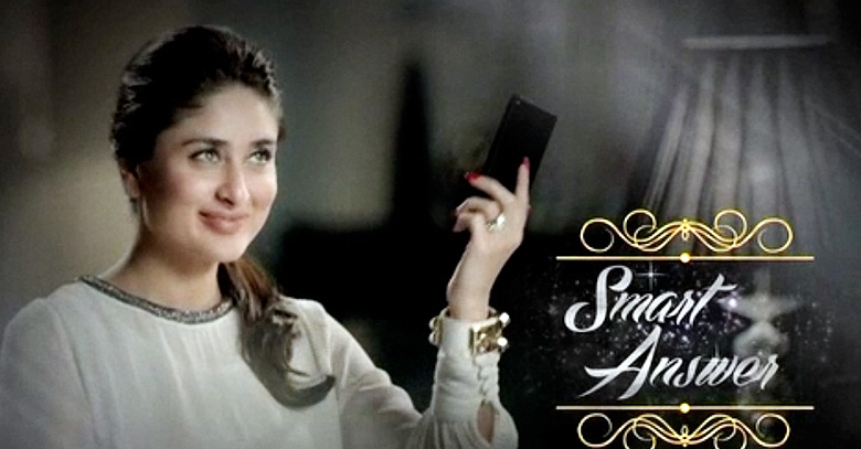Exclusive Kareena Kapoor Sizzles in Qmobile Noir Z4 TVC