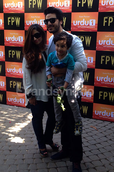 Ahsan Khan with family at FPW'15 Brunch by Urdu1 (26)