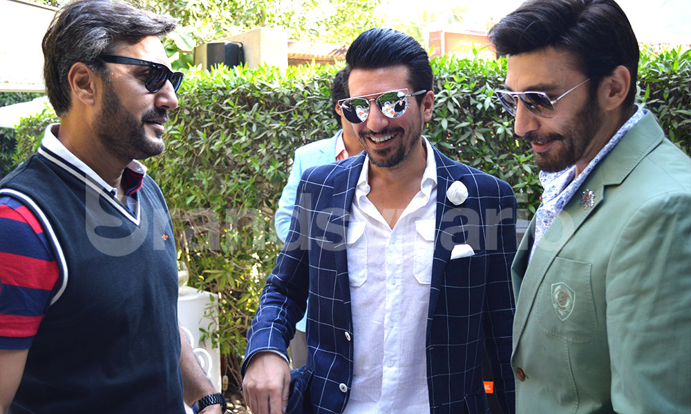 Waqar Ali Khan and Ijaz Aslam at FPW'15 Brunch by Urdu1 (9)