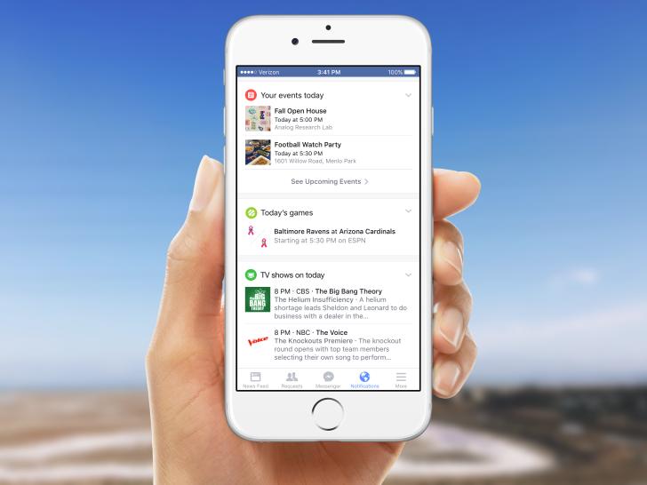 Facebook Notifications.Brandsynario