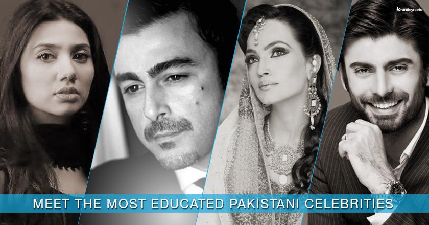 Famous Pakistani Celebrities Educational Backgrounds_1