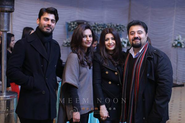 Fawad Khan and Ahmad Ali Butt