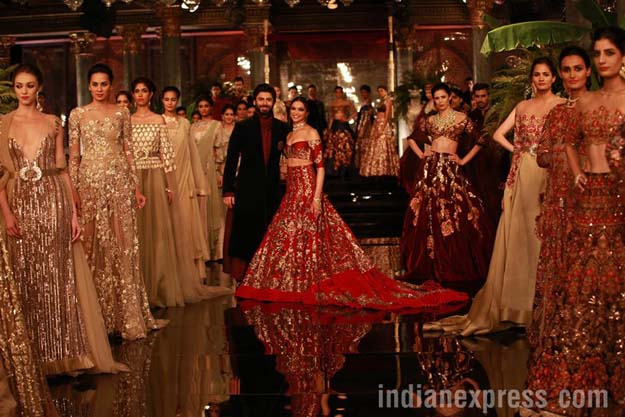 Fawad Khan and Deepika at India Couture Week 2016