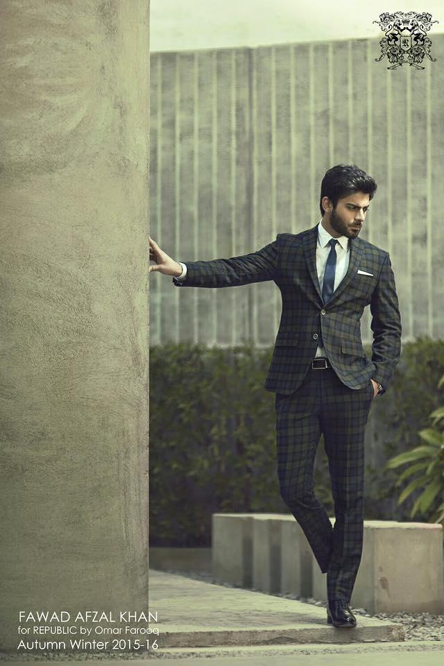 Fawad Khan for Republic by Omar Farooq