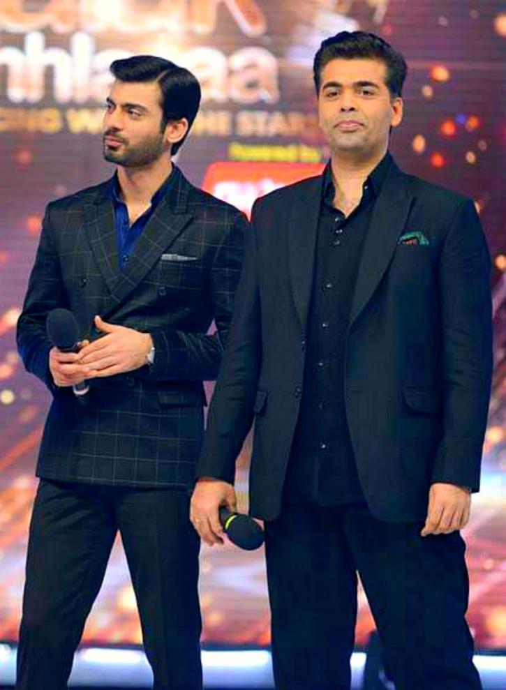Fawad Khan with Karan Johar 1