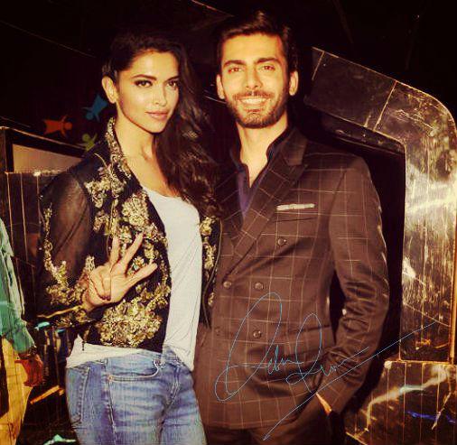 Fawad and Deepika