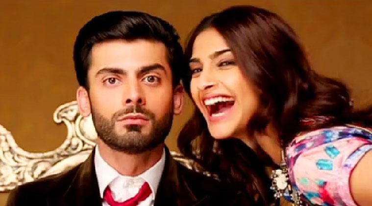 Fawad and Sonam picture