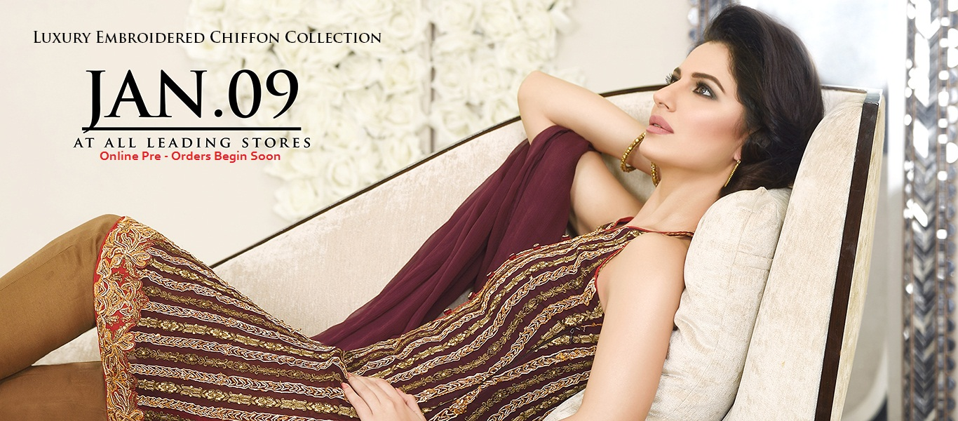Asim Jofa Luxury Embroidered Collection