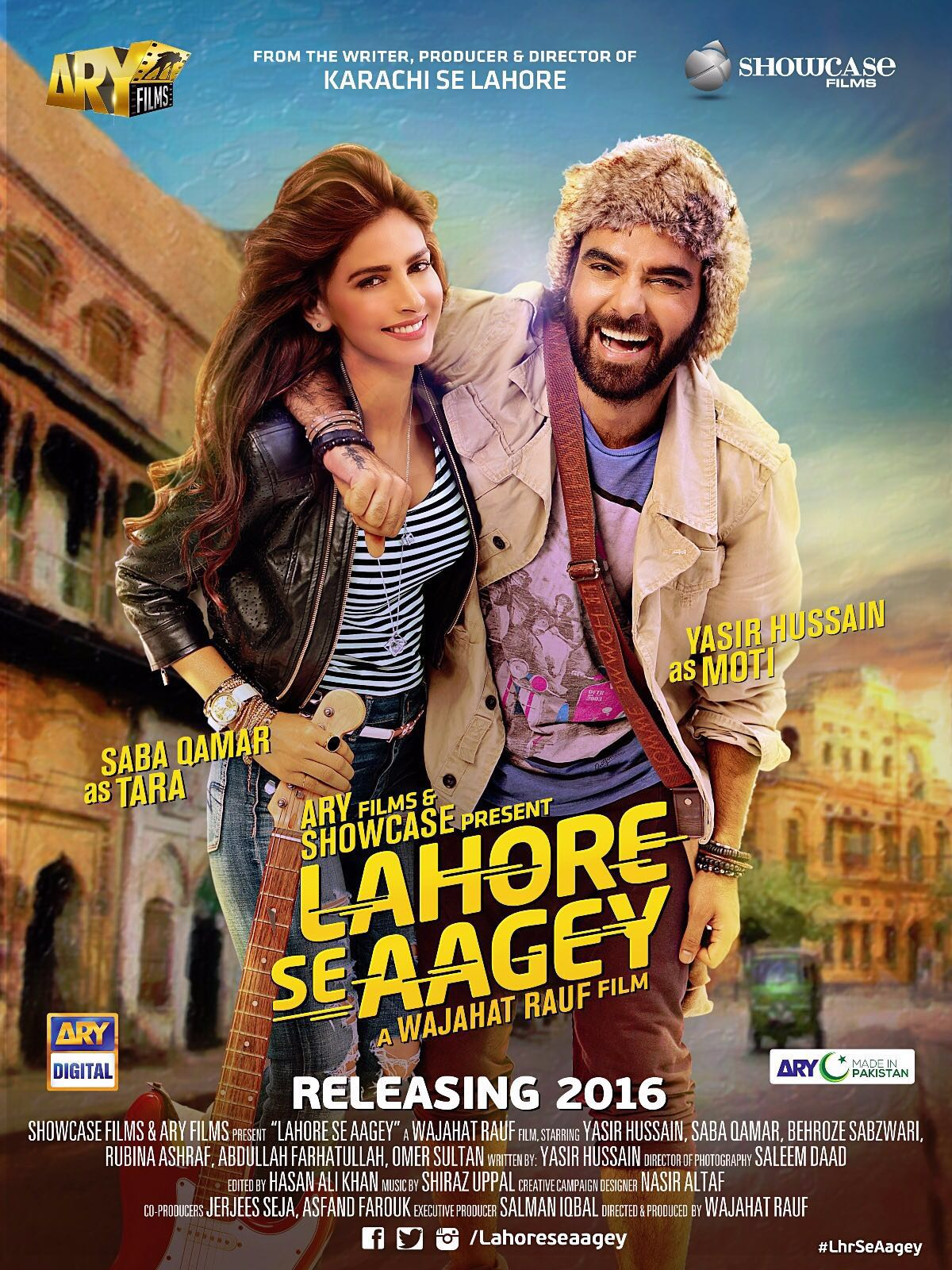 First look of #LahoreSeAagey