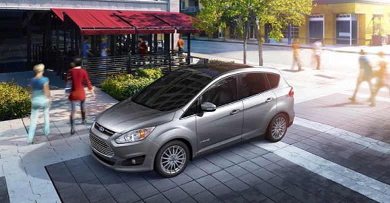 Ford C-Max Solar Energi Concept Car Fueled by Solar Energy