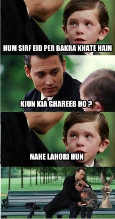 Reaction on Eid