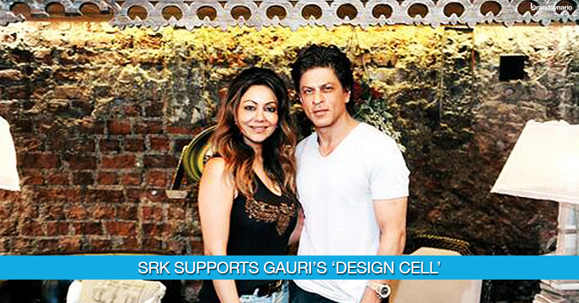 Gauri Khans new initiative Design Cell supported by SRK