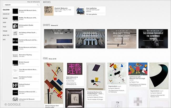 Google Art Work.Brandsynario