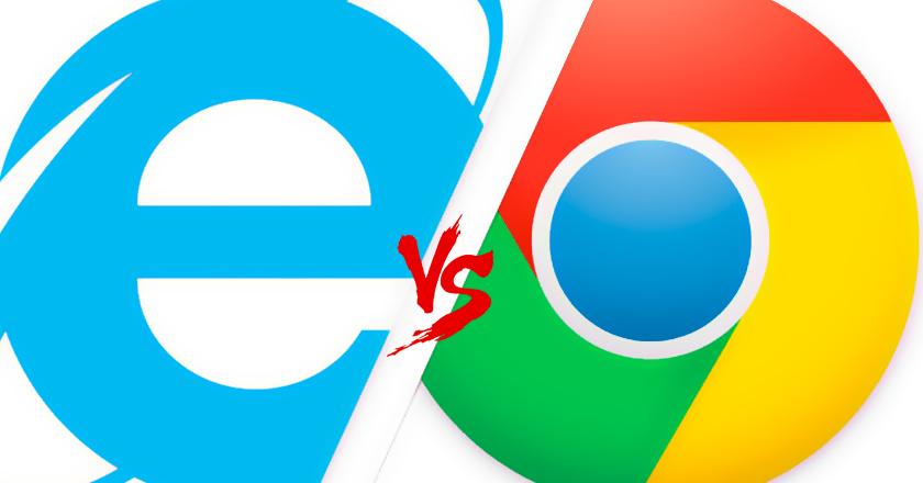 Google Chrome vs Internet Explorer We Finally Have a Winner
