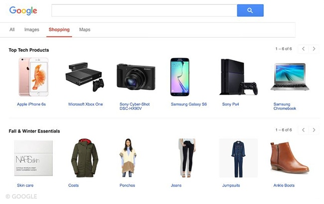 Google Shopping.brandsynario