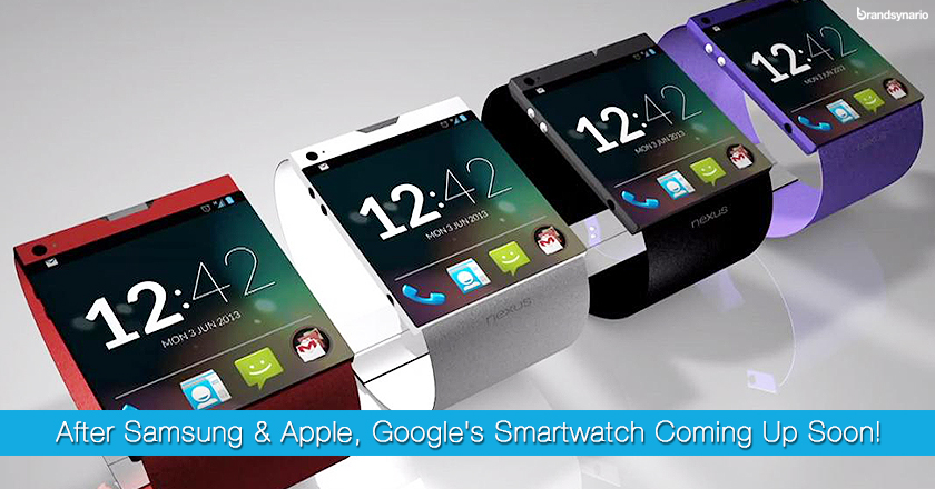 Googles Secret SmartWatch Images Leaked