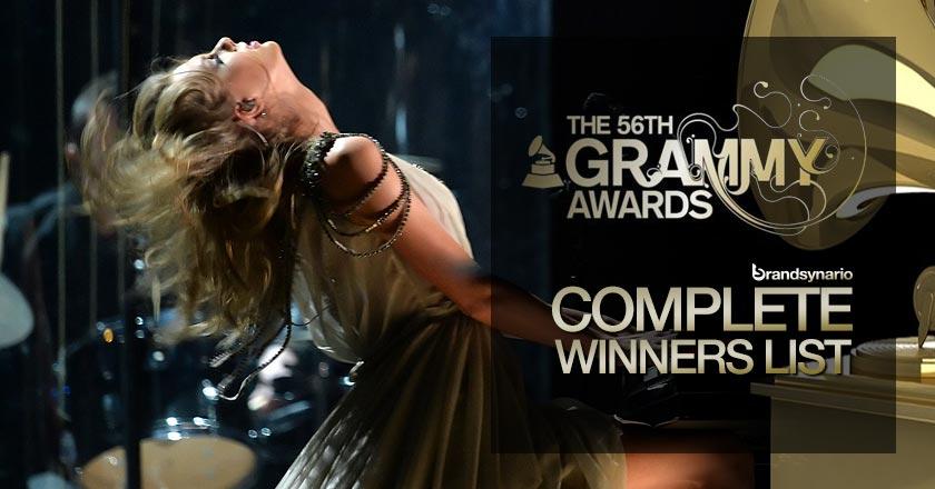 Grammy 2014 Complete Winner List