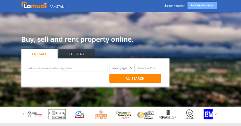 Growing Online Top Real Estate Ecommerce Portals in Pakistan