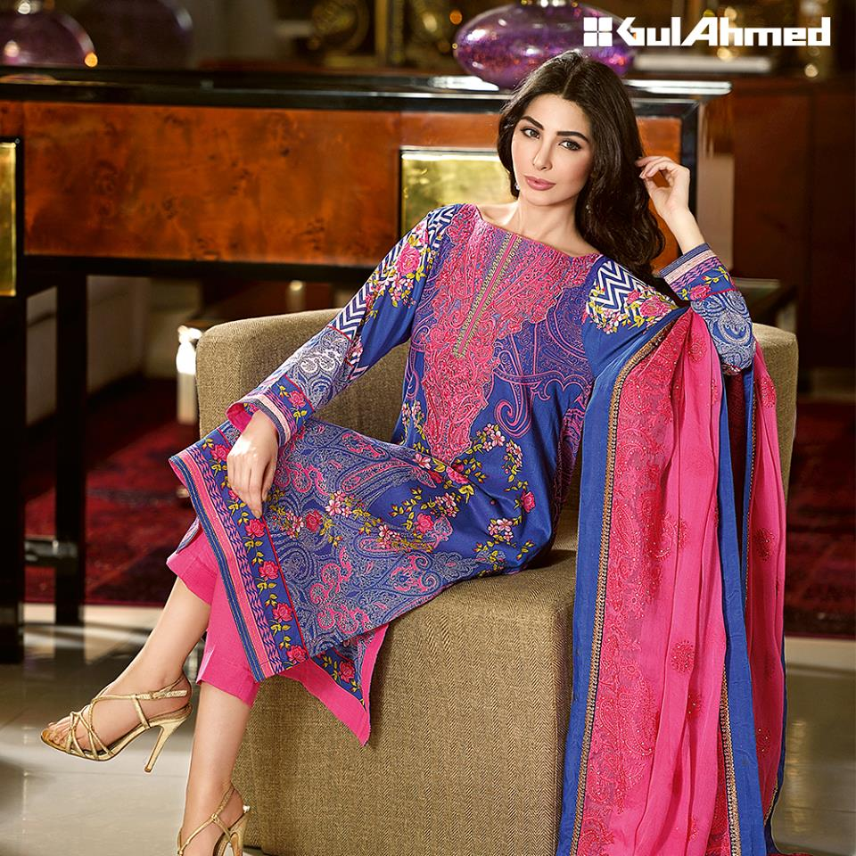 Gul Ahmed Spring/Summer Lawn Collection 2016 Volume 1 ...