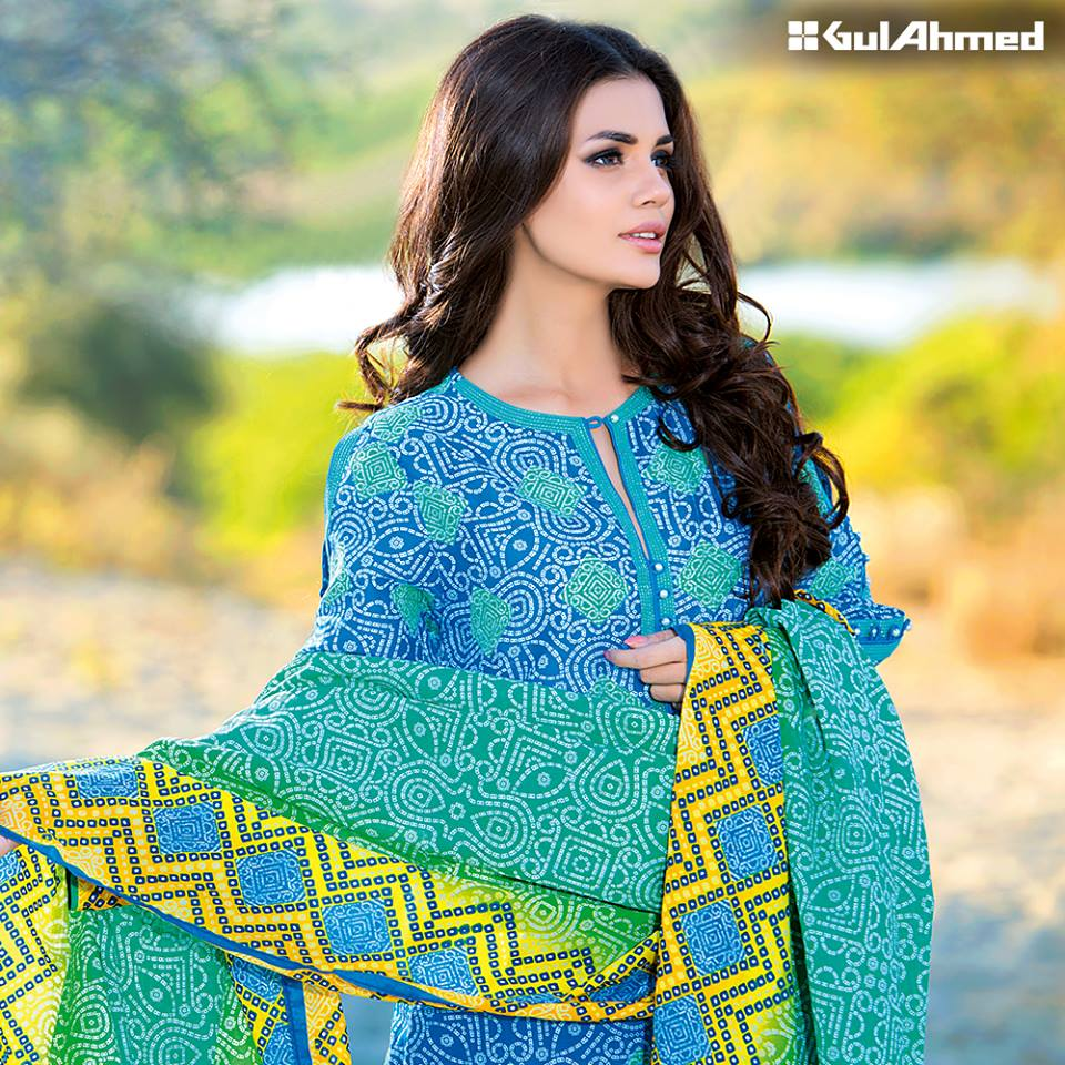 633dc08e74 Gul Ahmed Spring/Summer Lawn Collection 2016 Volume 1 Launched! -  Brandsynario