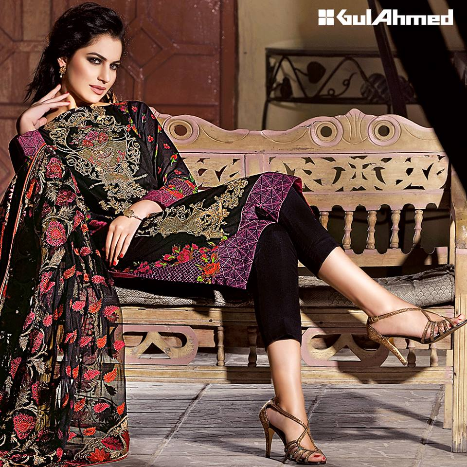e134417210 Gul Ahmed Spring/Summer Lawn Collection 2016 Volume 1 Launched! -  Brandsynario