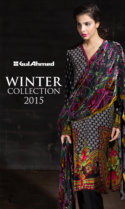Gul Ahmed Winter Collection 2015 (1)