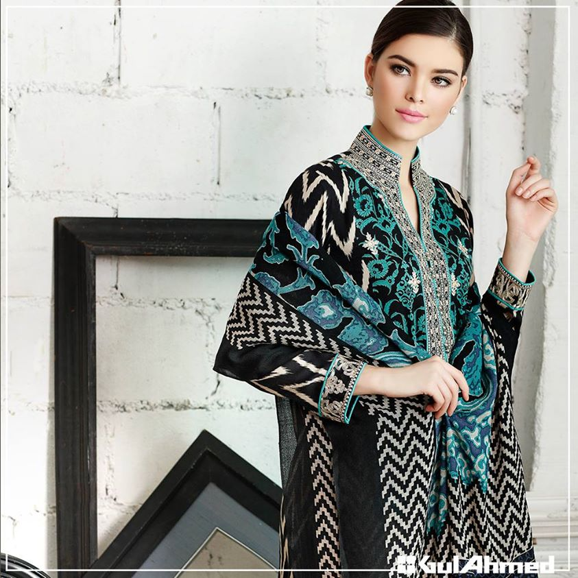Gul Ahmed Winter Collection 2015 (10)
