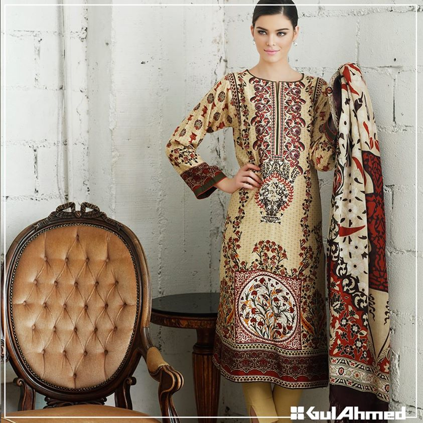 Gul Ahmed Winter Collection 2015 (12)