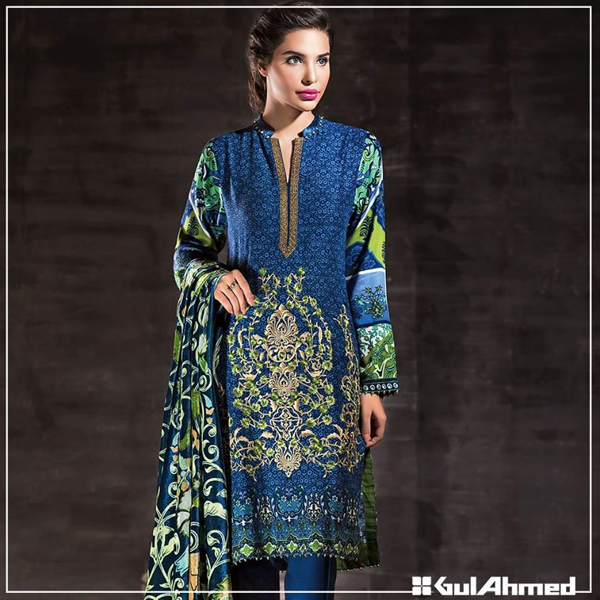 Gul Ahmed Winter Collection 2015 (13)