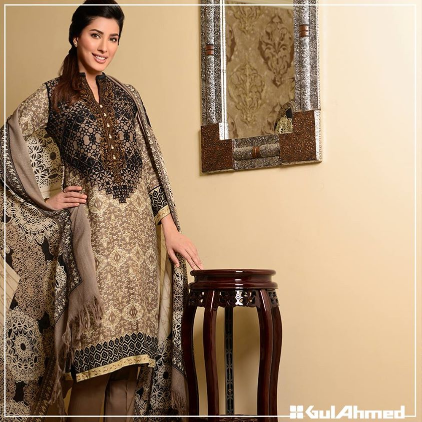 Gul Ahmed Winter Collection 2015 (14)