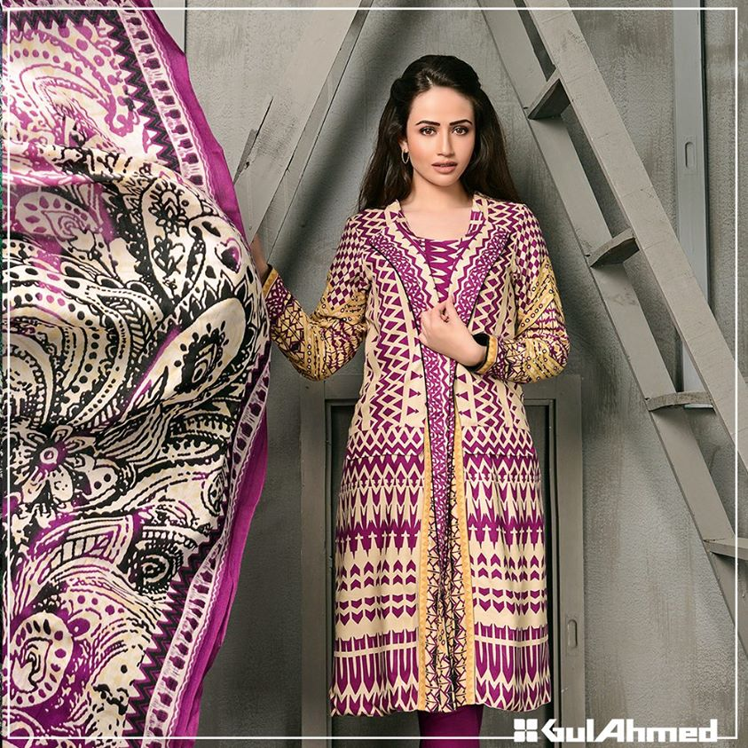 Gul Ahmed Winter Collection 2015 (15)