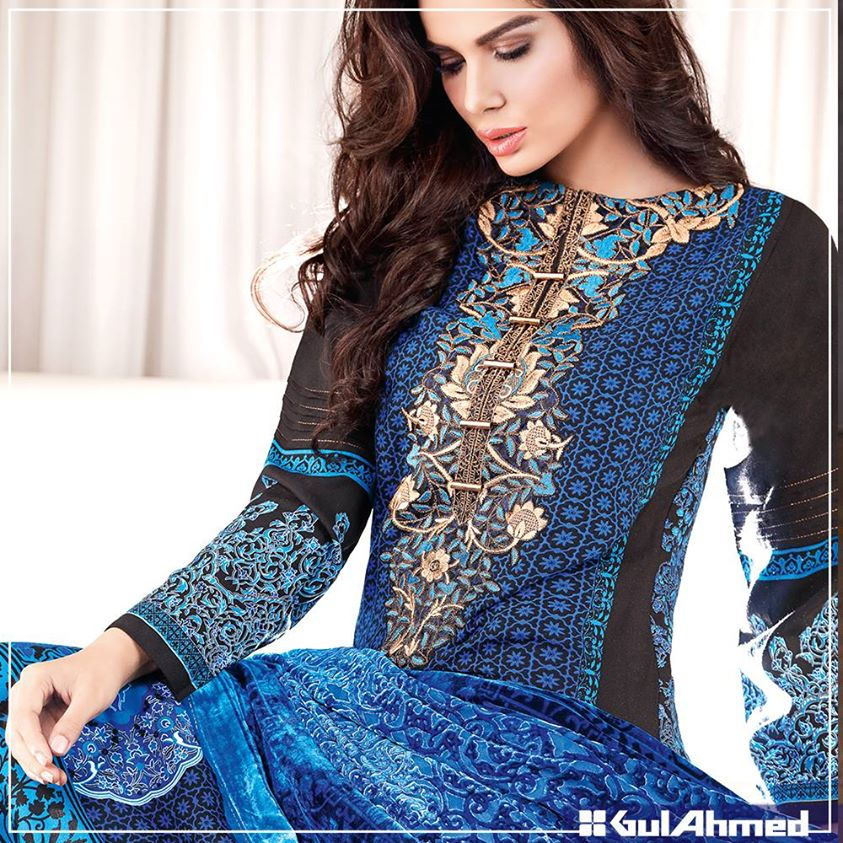 Gul Ahmed Winter Collection 2015 (16)