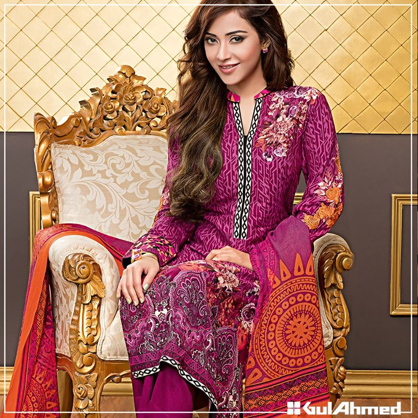 Gul Ahmed Winter Collection 2015 (17)