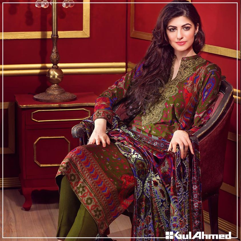 Gul Ahmed Winter Collection 2015 (18)
