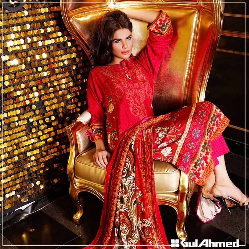 Gul Ahmed Winter Collection 2015 (19)