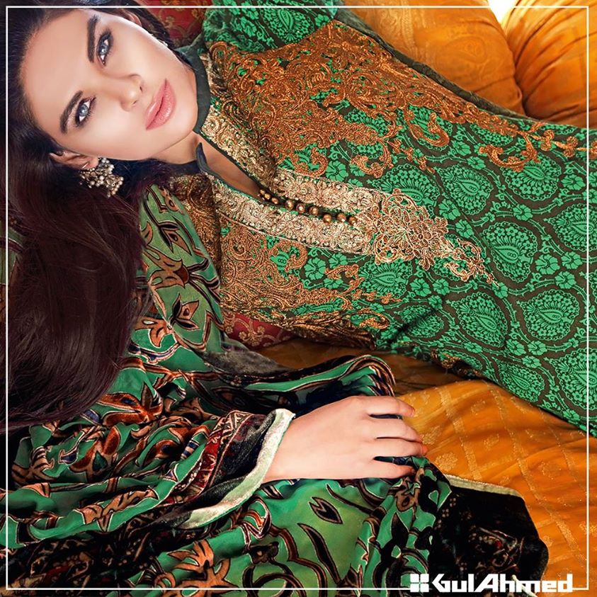Gul Ahmed Winter Collection 2015 (2)